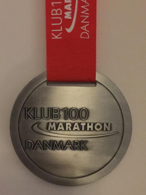 Billede af Klub 100 medalje