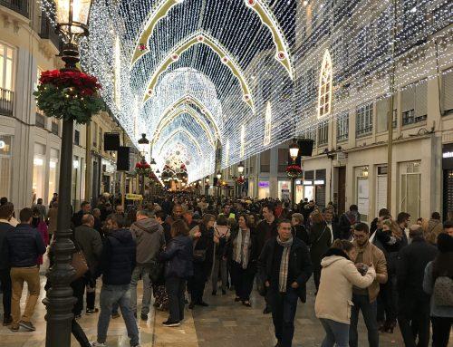 Malaga Marathon – 20 grader i december med masser af julestemning